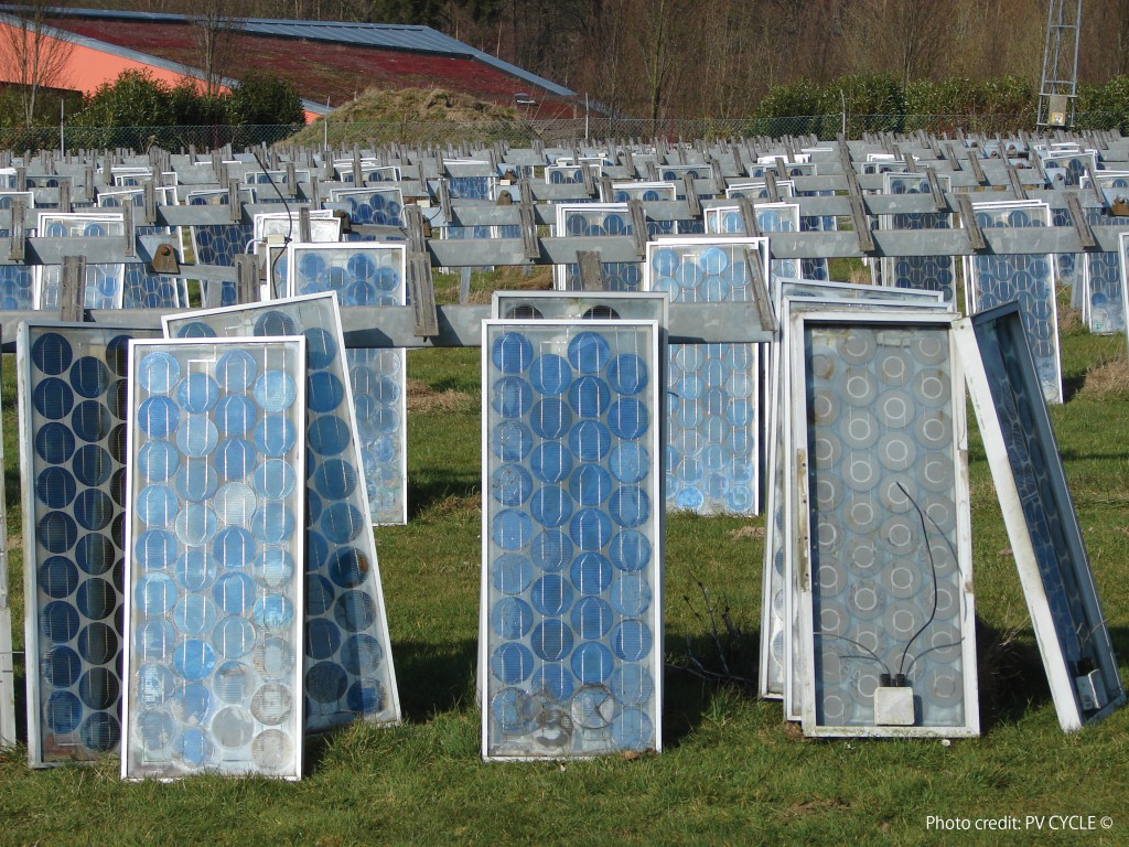 recycle solar panels